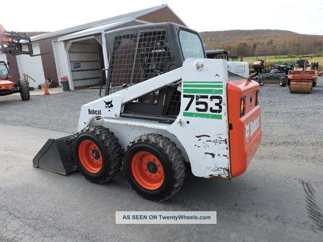 Loader Skid 753 Specs Bobcat