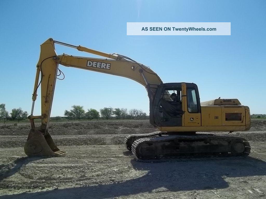 Specs Excavator Deere John 200