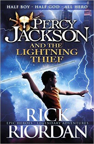 Percy Jackson and the Lightning Thief #1 By Rick Riordan ...