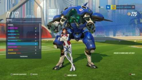 All New Overwatch Olympics Skins of the Summer Games Event D VA   Taegeukgi
