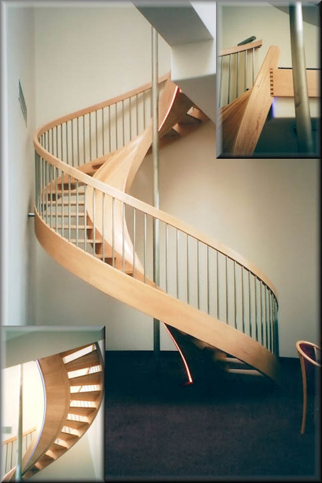 10 Awesome Stairs With Slides «Twistedsifter   Spiral Staircase Near Me   Steel   Staircase Kits   Handyman Services   Handy Guy   Metal