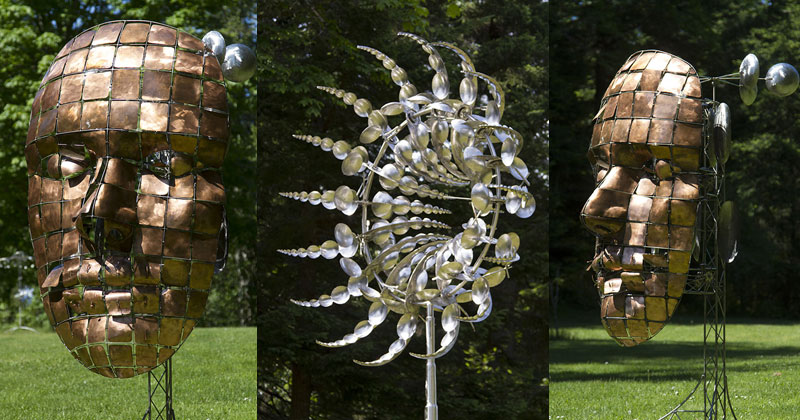 Kinetic Wind Powered Sculptures By Anthony Howe 171 Twistedsifter