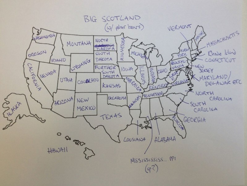 This is What Happens When Americans are Asked to Label Europe and     british students asked to label a map of the united states  12