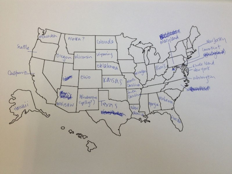 This is What Happens When Americans are Asked to Label Europe and     british students asked to label a map of the united states  3