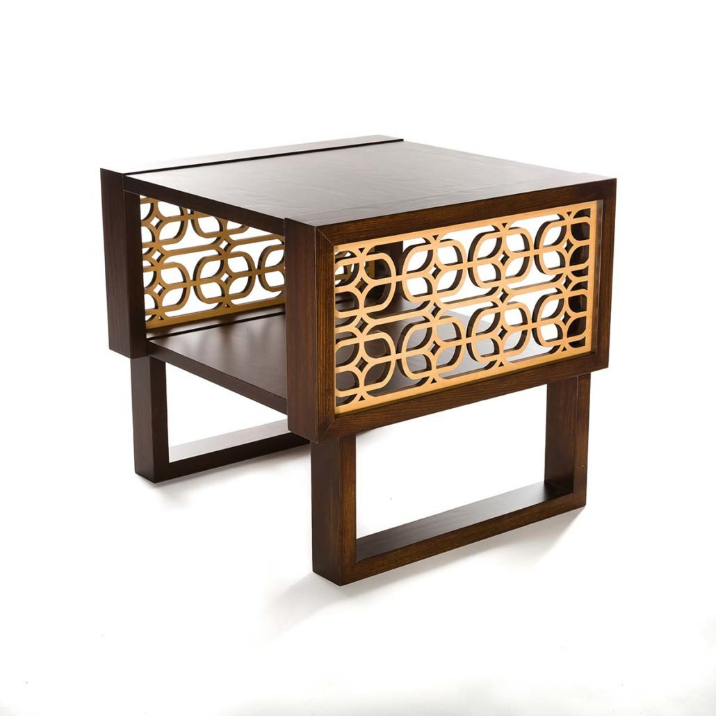 Long Wood Coffee Table