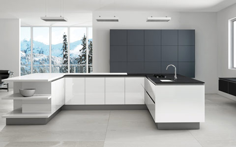 High Gloss Kitchen Doors Made To Measure At Trade Prices