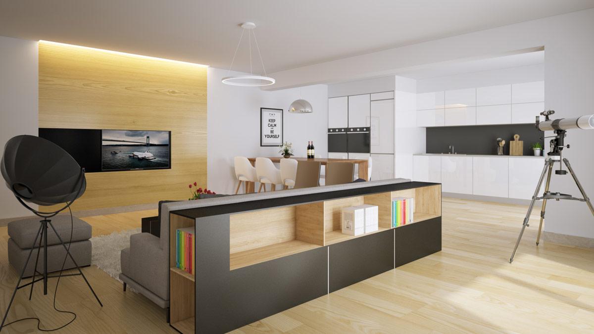 Small Kitchen Design Eat