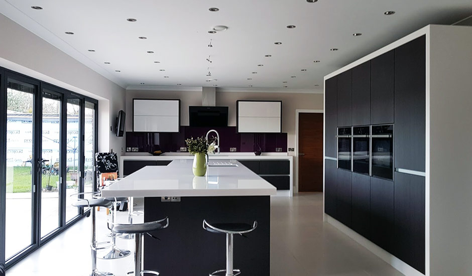 Home Plans Large Kitchens
