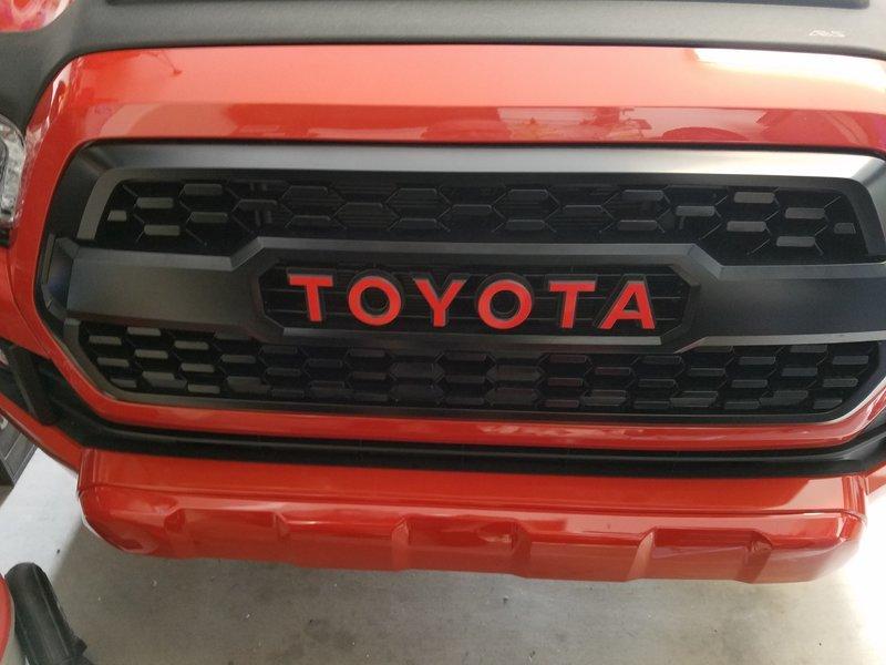 Toyota Tacoma Trd Grill