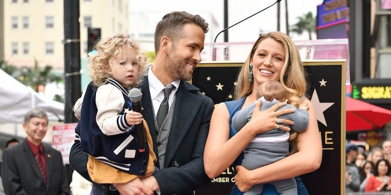 Blake Lively And Ryan Reynolds' Kids Appear In Public