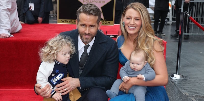 Blake Lively And Ryan Reynolds Name Second Daughter Ines
