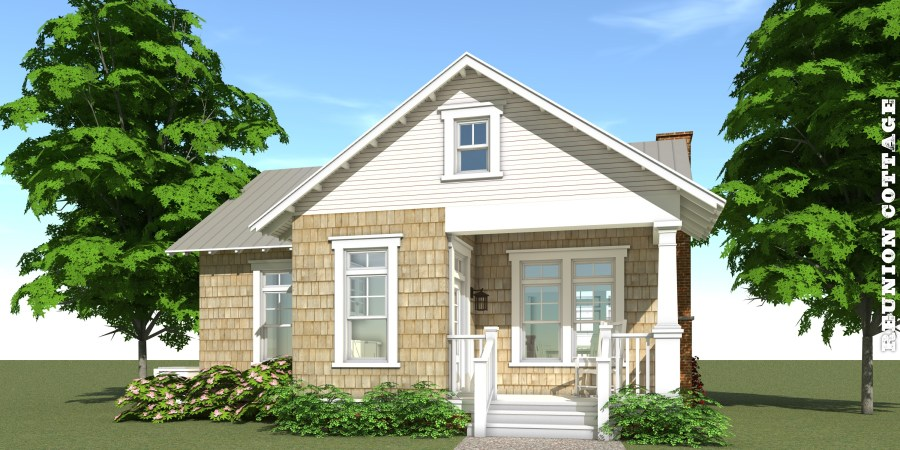 Reunion Cottage House Plan     by Tyree House Plans Reunion Cottage House Plan   Tyree House Plans