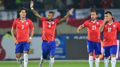 Chile 3 - 3 Mexico Match report - 6/16/15 Copa America ...