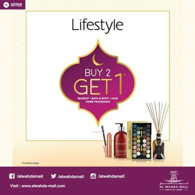 Lifestyle Buy 2 Get 1 Free Offers - UAE DUBAI OFFERS DEALS ...