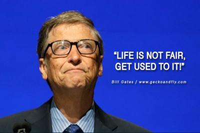 Kata-kata bijak Bill Gates dalam bahasa Inggris dan ...