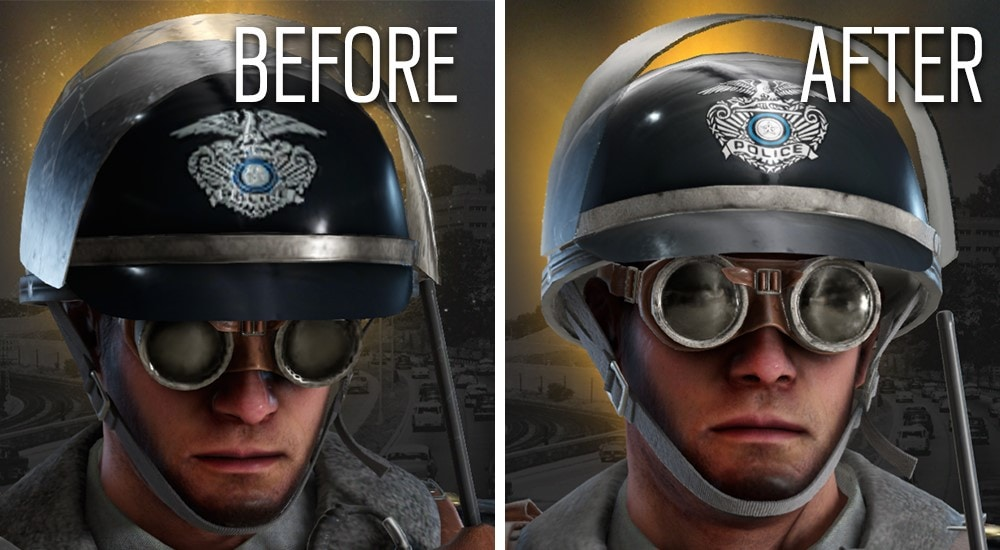 Rainbow Six Siege Thermite Face