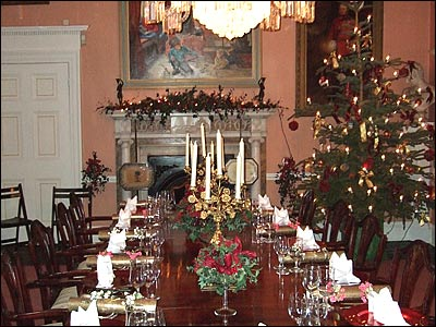 Christmas interior decorating dinning room      Home Gallery Christmas interior decoratin      Christmas interior decorating