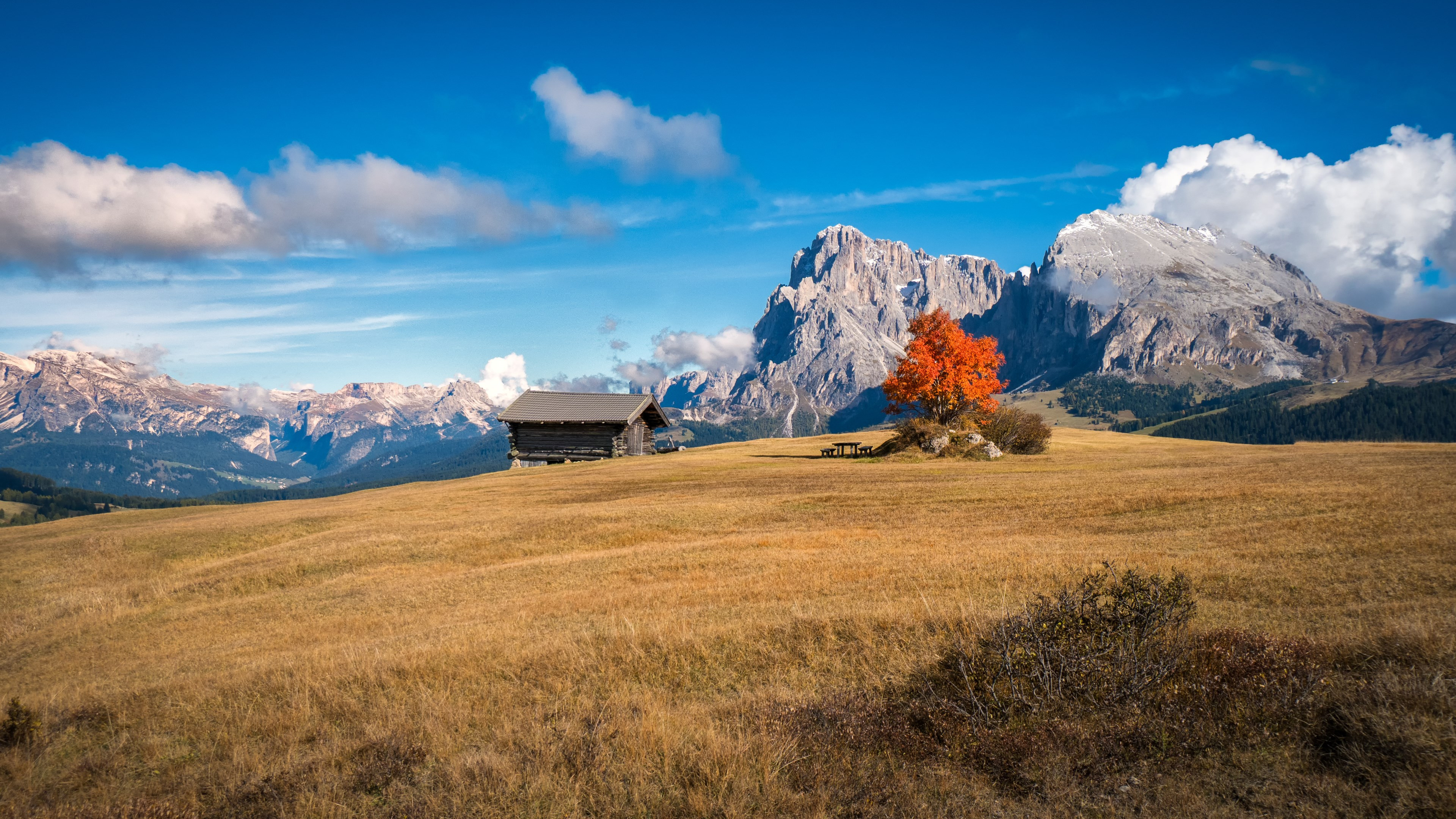 Download Wallpaper Perfect Autumn Landscape From South