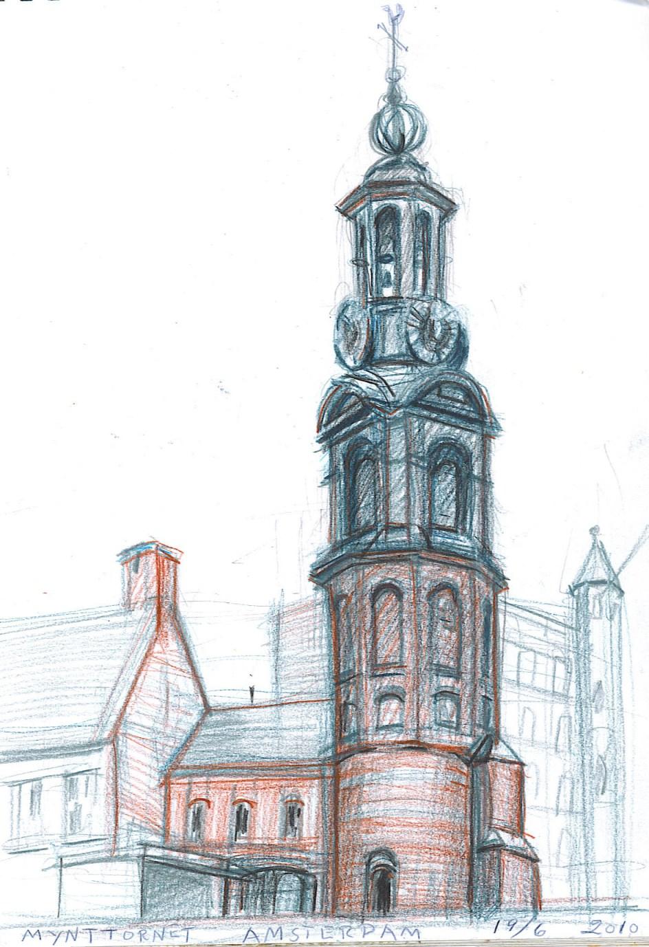 Bernth Uhno Drawings Travells Amsterdam Amp Belgium
