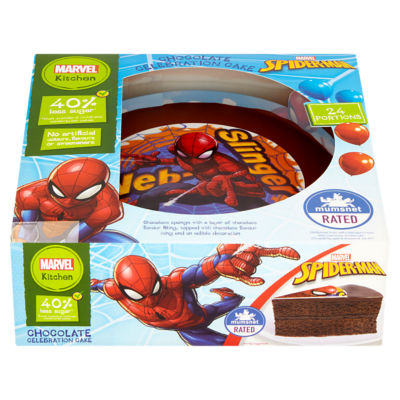 Spiderman Birthday Cakes Asda Cake Recipe