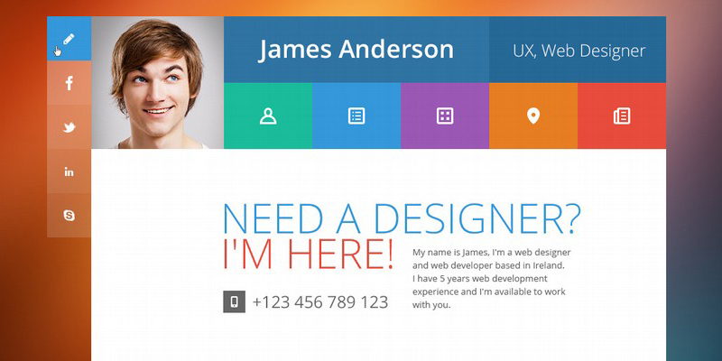 19 Professional Online Resume   CV WordPress Themes 2014   A Graphic     19 Professional Online Resume   CV WordPress Themes 2014   A Graphic World