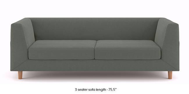 Fabric Sofa Sets  Buy Fabric Sofas Online  Find Various Designs     Rubik Sofa  Charcoal Grey   3 seater Custom Set   Sofas  None