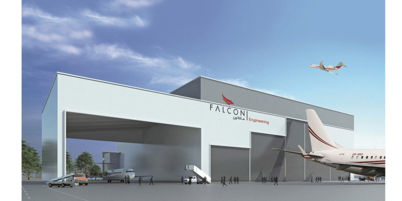 Falcon Aviation plans to open new hangar at Dubai World City site     Falcon Aviation plans to open new hangar at Dubai World City site
