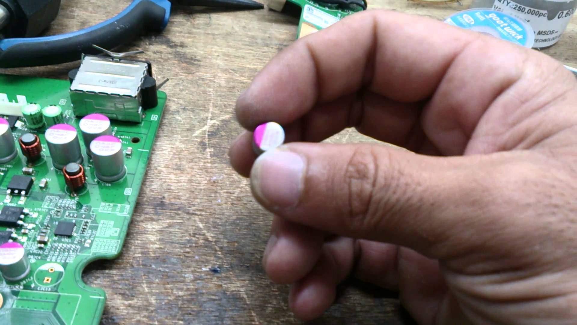 Xbox Slim Erro 0033 Capacitores 2 5 Volts 821 Uf Um Genio Com Br
