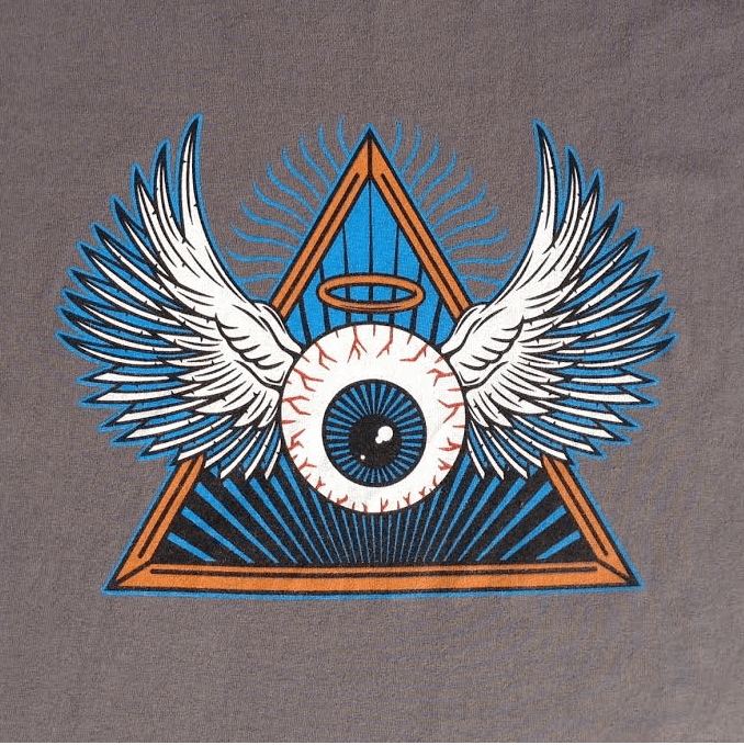 Grateful Dead Eyeball Flying