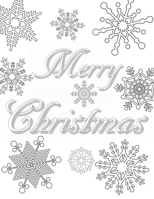 adult christmas coloring pages # 60