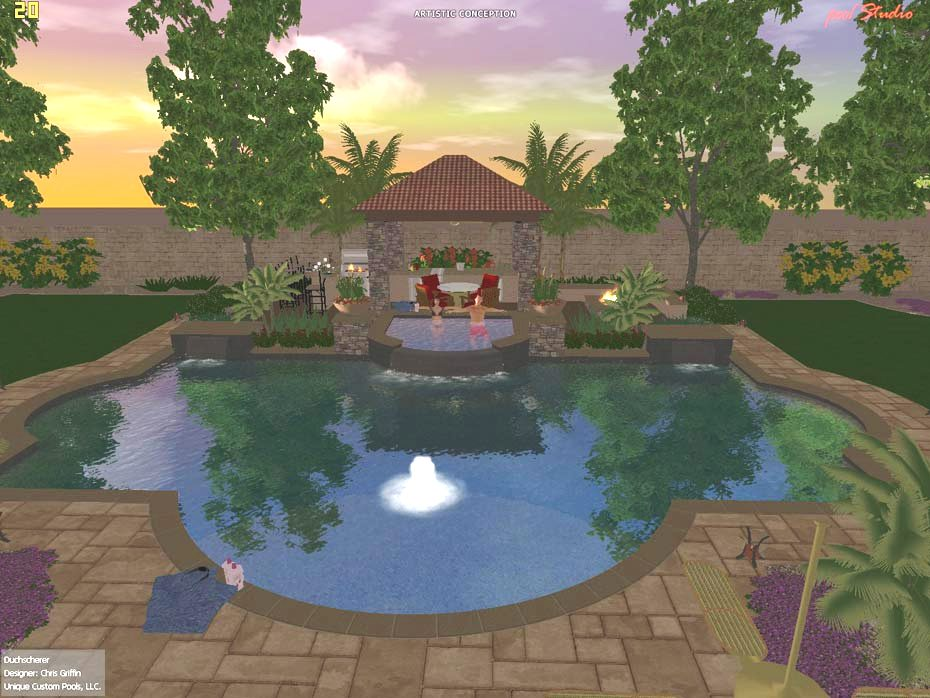 Landscape Design 3d