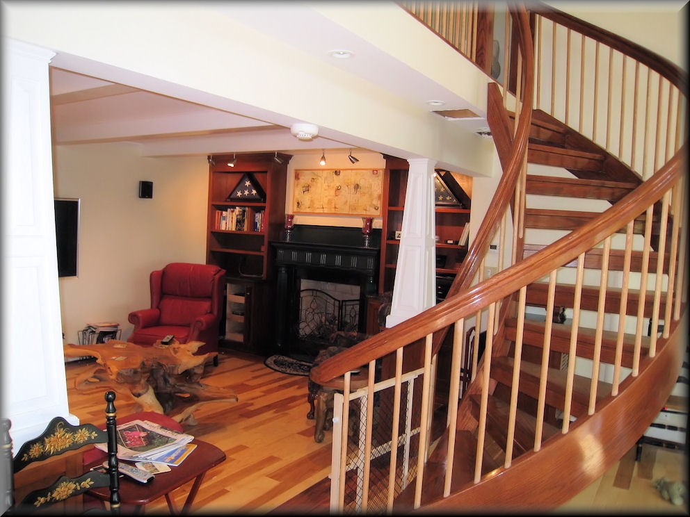 Spiral Stair Options | 6 Foot Spiral Staircase | Reroute Galvanized | Stair Case | Mylen Stairs | Wood | Metal