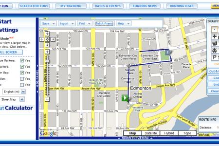Download EPub PDF File Map My Run In - Run calculator map
