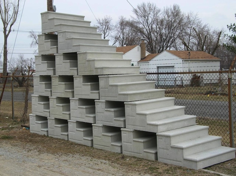Unit Step Company – For Concrete Precast Steps And Ornamental Iron | Precast Concrete Basement Steps Near Me | Basement Walls | Egress Window | Finished Basement | Prefab Concrete | Stair Treads