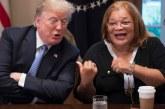 Trump se reúne con la defensora pro-vida Alveda King y sobreviviente del aborto tardío