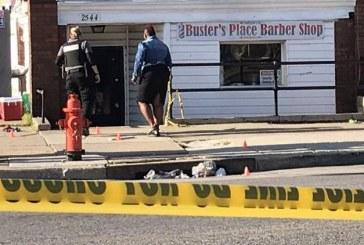 7 disparos, 1 fatalmente, cerca de la iglesia Bautista en Baltimore, pistolero se va a la fuga