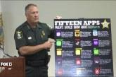 Sheriff advierte a los padres acerca de 15 aplicaciones que podrían poner a los niños en riesgo de ser blanco de depredadores