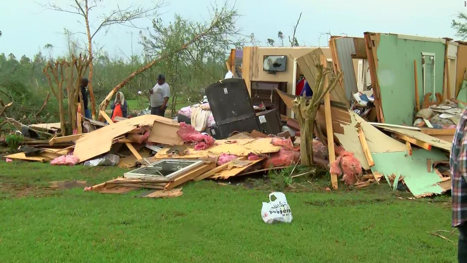 Tornados al sur de Estados Unidos causan daños 'catastróficos' y dejan varias muertes