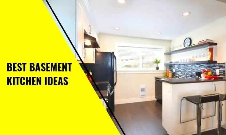 The Best Basement Kitchen Ideas And Concepts | Kitchen With Stairs To Basement | Next | Mid Century | Living Room | Narrow | Ranch