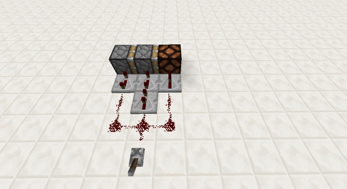 Minecraft Redstone Repeater Circuit Repeating