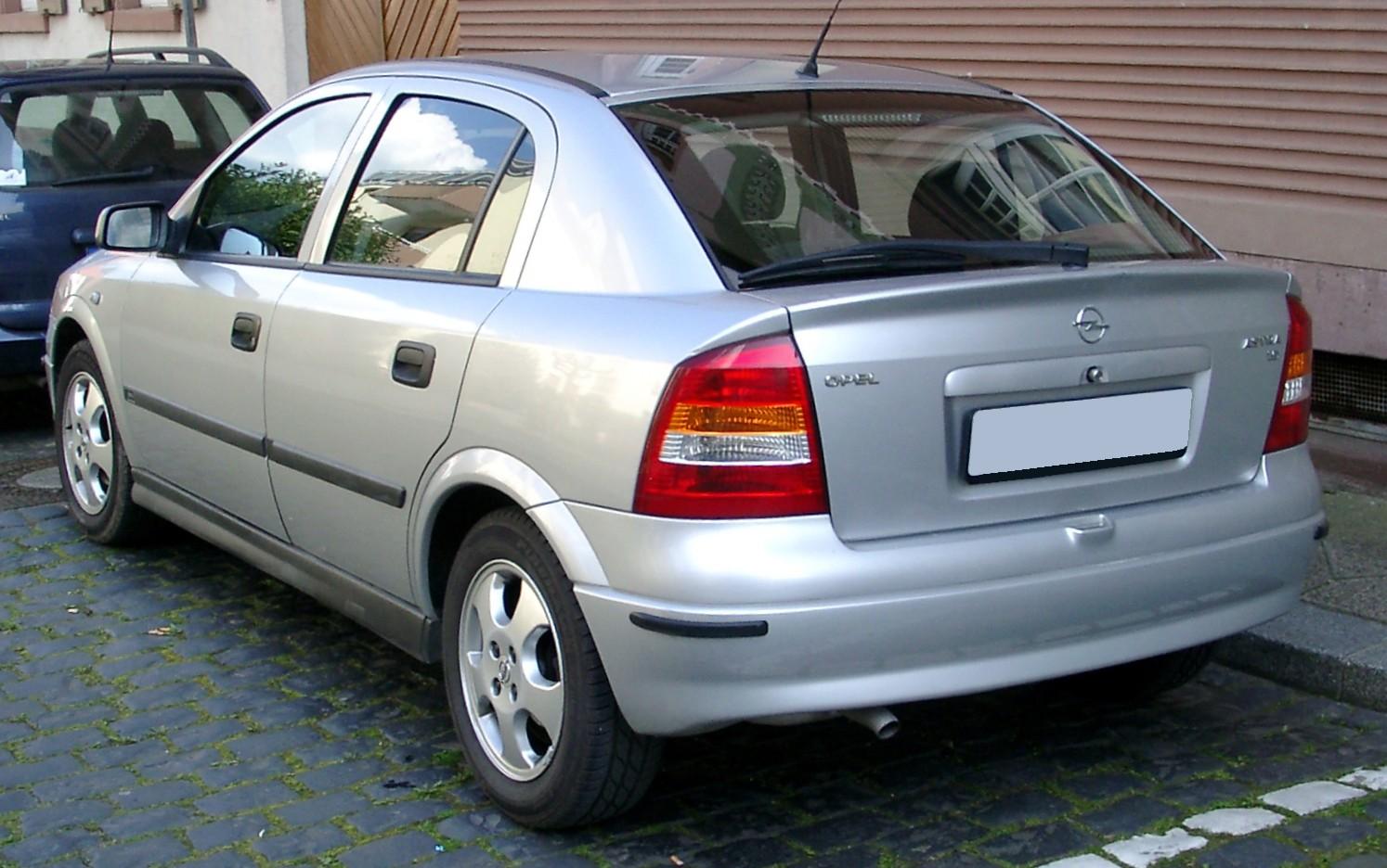 File:Opel Astra G rear 20080424.jpg - Wikimedia Commons