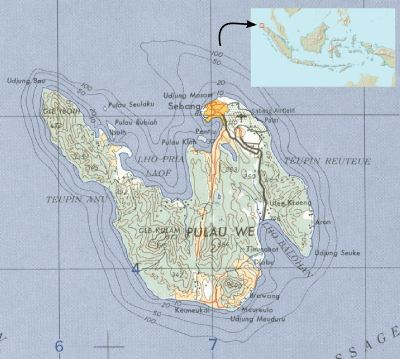 Pulau Weh - Wikipedia bahasa Indonesia, ensiklopedia bebas