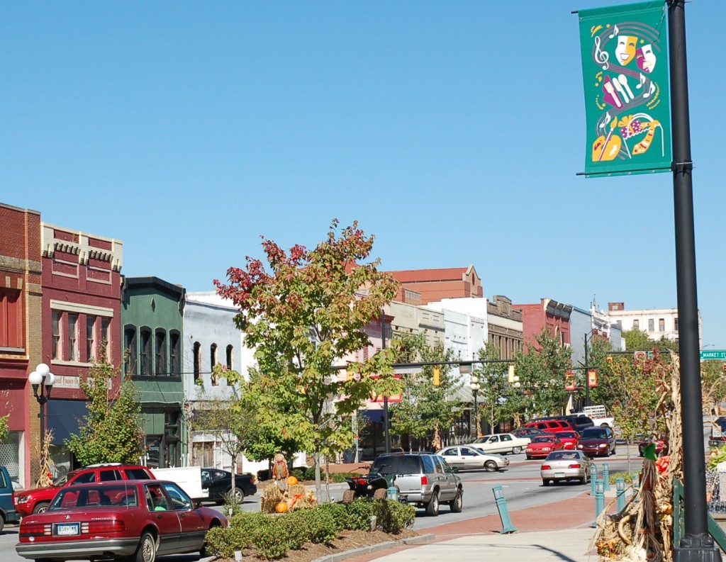 Downtown Anderson South Carolina