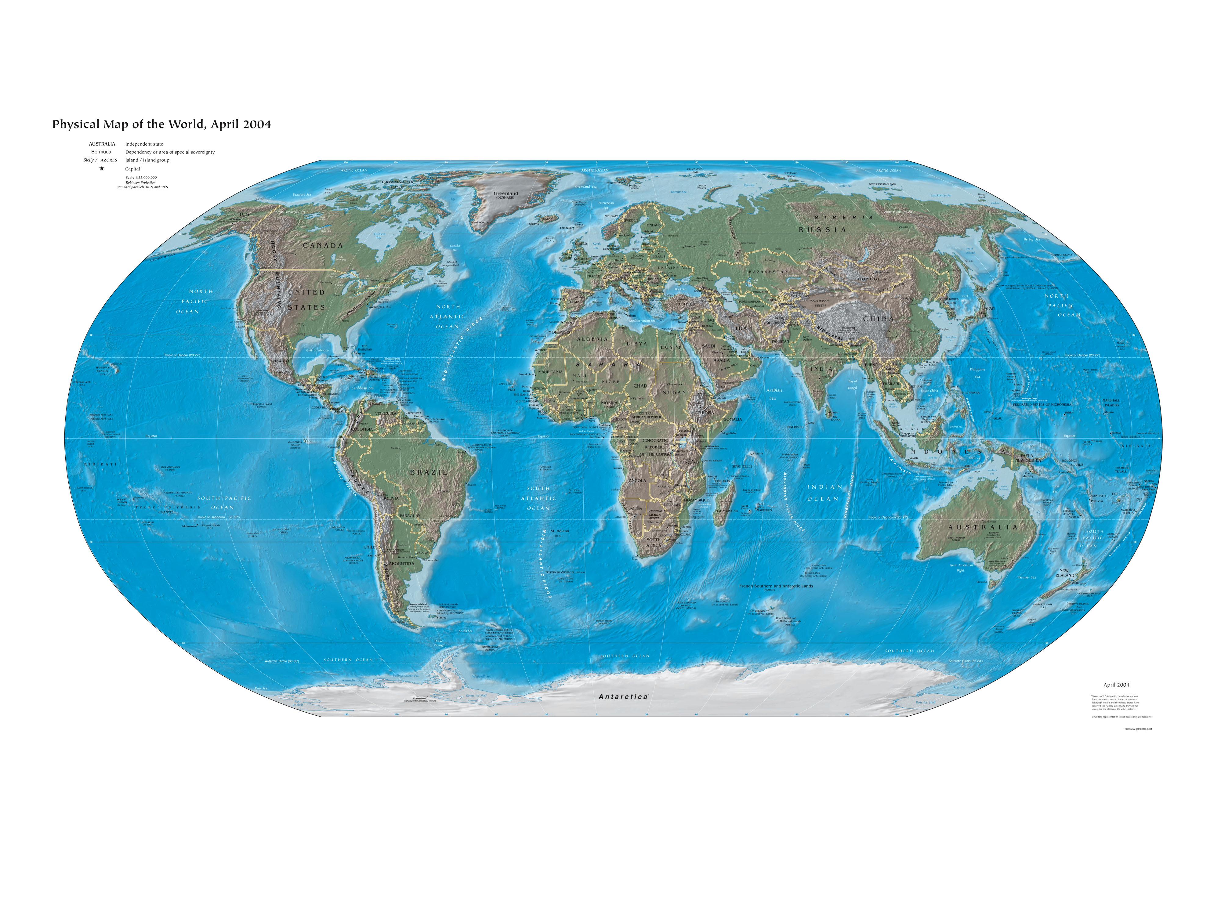 Editorial Posts Antarctica Map Images Stock