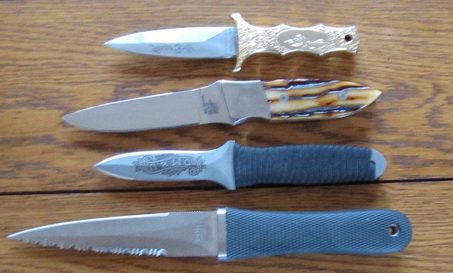 Concealed Ankle Knives