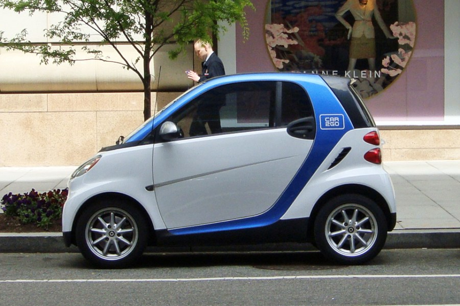 Smart  marque    Wikipedia Car2Go carsharing Smart fortwo  2nd generation