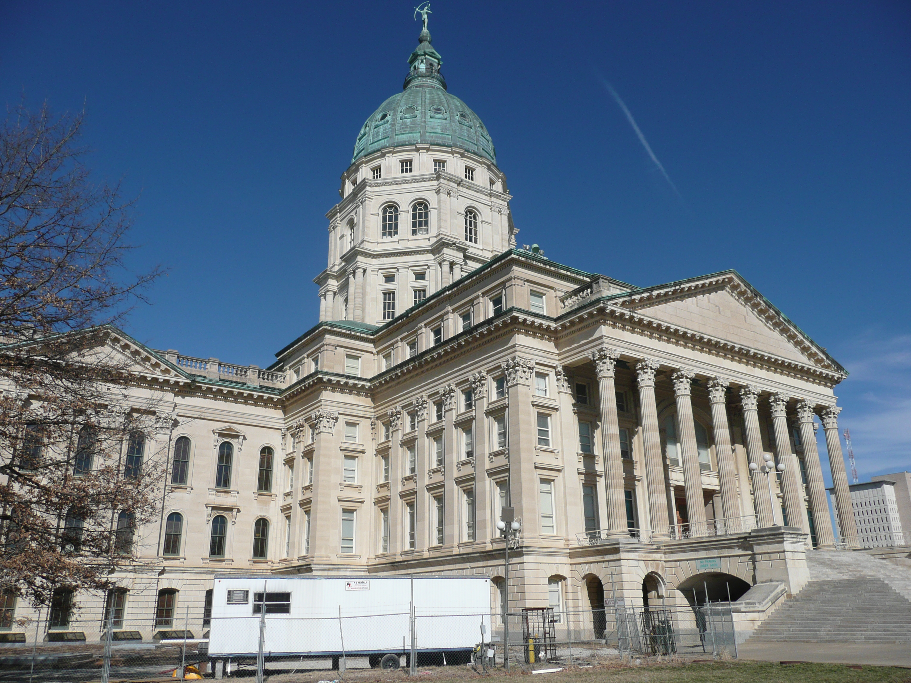 Kansas State House Dome Renovation