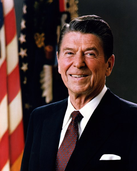 List of Presidents of the United States   Wikipedia     Official Portrait of President Reagan 1981 jpg