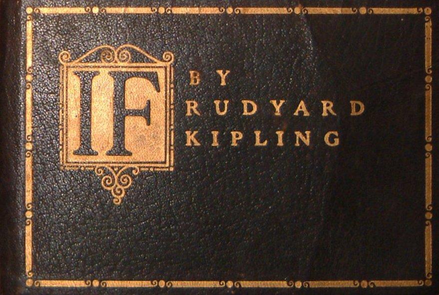 If Kipling Poster Rudyard