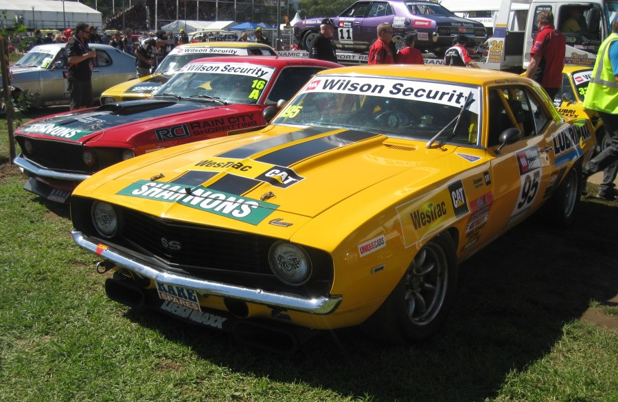 1974 ford cars » 2012 Australian Touring Car Masters Series   Wikipedia Andrew Miedecke placed third in Class A driving an Chevrolet Camaro SS